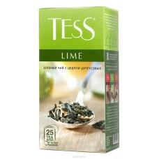 Чай зеленый в пакетиках для чашки Tess Lime (Тесс Лайм), 25*1,5 г