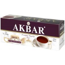 Чай черный в пакетиках для чашки Akbar Классическая серия, 25*2 г