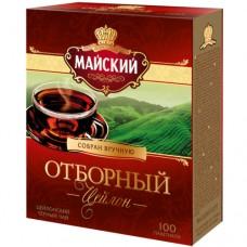 Чай черный в пакетиках для чашки, Майский Отборный, 100*2 г.