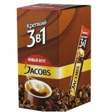 Кофе растворимый Jacobs 3 в 1 Крепкий, 24*12 г