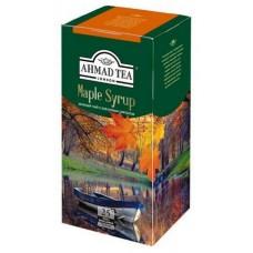 Чай зеленый в пакетиках для чашки Ахмад Кленовый сироп, 25*1,5 г