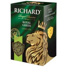 Чай зеленый листовой Richard Royal Green (Ричард Королевский), 90 г.