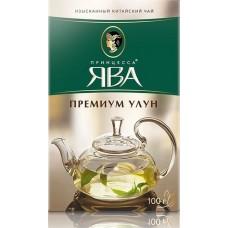 Чай зеленый листовой Принцесса Ява Премиум Улун, 100 г
