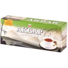 Чай зеленый в пакетиках для чашки Akbar, 25*2 г