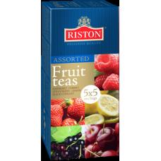 Чай черный в пакетиках для чашки Riston Фруктовое ассорти, 25*2 г