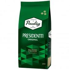 Кофе в зернах Paulig Presidentti Original (Паулиг Президенти Ориджинал), 250 г.