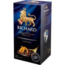 Чай черный в пакетиках для чашки Richard Lord Grey, 25*2 г