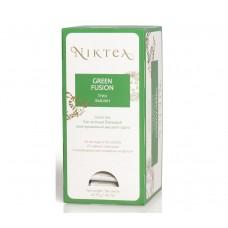 Чай зеленый в пакетиках для чашки Niktea Green Fusion (Никти Грин Фьюжн), 25шт*1,75 г.
