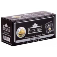 Чай черный в пакетиках для чашки Beta Tea Бергамот, 25*2 г