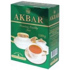 Чай зеленый листовой Akbar Изумрудная серия, 100 г