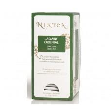 Чай зеленый в пакетиках для чашки Niktea Jasmine Oriental (Никти Жасмин Ориентал), 25шт*1.75 г.