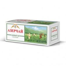 Чай зеленый в пакетиках для чашки Азерчай, 25*2 г