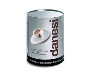 Кофе в зернах Danesi Doppio (Данези Доппио), 2 кг