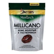 Кофе растворимый Jacobs Monarch Millicano, м/у, 250 г