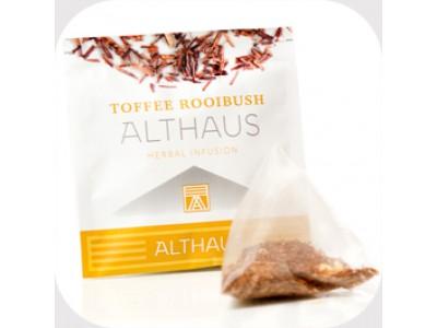 Чай травяной в пирамидках Althaus Toffee Rooibush (Альтхаус Тоффи Ройбуш), 15 шт.*2,75 г.