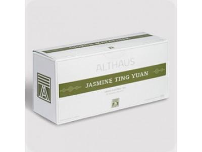 Чай зеленый в пакетиках для чайника Althaus Jasmine Ting Yuan (Альтхаус Жасмин Тинг Юань),  20 шт.*4