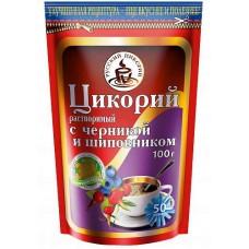 Цикорий Русский цикорий с черникой и шиповником, м/у, 100 г