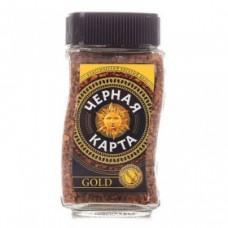 Кофе растворимый Черная карта Gold, банка, 95 г
