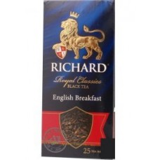 Чай черный в пакетиках для чашки Richard Royal English Breakfast 25*2 г.