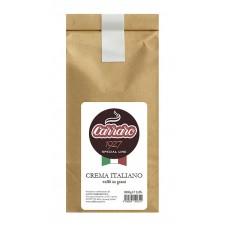Кофе в зернах Carraro Crema Italiano (Караро Крема Итальяно), 1 кг