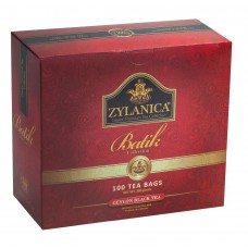 Чай черный в пакетиках для чашки Zylanica Batik Design, 100*2 г