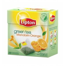 Зеленый чай в пирамидках Lipton Mandarin Orange, 20*1,8 г