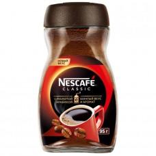 Кофе растворимый Nescafe Classic c молотой арабикой, банка, 95 г