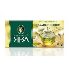 Чай зеленый в пакетиках для чашки Принцесса Ява Традиционный, 25*2 г
