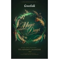 """GREENFIELD Набор """"Коллекция чая и чайных напитков Волшебные дни пакетированный"""", 24 шт"""