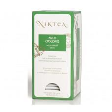 Чай зеленый в пакетиках для чашки Niktea Milk Oolong (Никти Mолочный Улун), 25шт.*1,75 г.