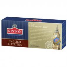 Чай черный в пакетиках для чашки Riston Элитный Английский, 25*2 г