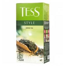 Чай зеленый в пакетиках для чашки Tess Style (Тесс Стайл), 25*2 г