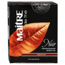 Чай черный в пакетиках для чашки Maitre Indian Star, 100*1,8 г