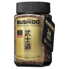 Кофе растворимый Bushido Голд, банка, 100 г