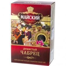 Чай черный листовой Майский Душистый Чабрец, 100 г