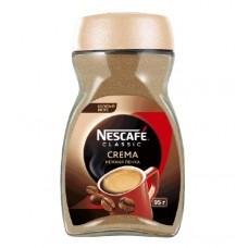 Кофе растворимый Nescafe Classic Crema, банка, 95 г