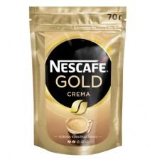 Кофе растворимый Nescafe Gold Crema, м/у, 70 г