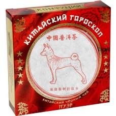 Чай черный прессованный Конфуций Pu-er Китайский гороскоп, 100 г