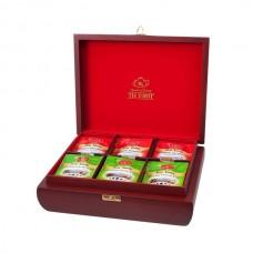 Набор зеленого и черного чая в пакетиках для чашки Ти Тэнг, 144 г