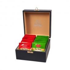 Набор зеленого и черного чая в пакетиках для чашки Ти Тэнг, 100 г