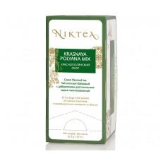 Чай зеленый в пакетиках для чашки Niktea Krasnaya Polyana Mix (Никти Краснополянский сбор), 25шт*1,5