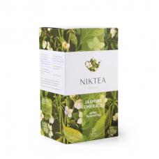 Чай зеленый в пакетиках для чашки Niktea с жасмином 25*2г.