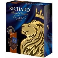 Чай черный в пакетиках для чашки Richard Royal Kenya.(Ричард Королевская Кения) 100*2 г.