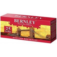 Чай черный в пакетиках для чашки Bernley English Premium, 25*2 г