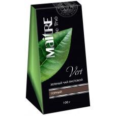 Чай зеленый листовой Maitre Горный лист, 100 г
