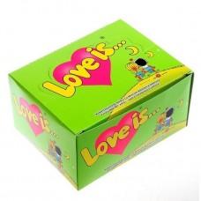 Жевательная резинка Love is Яблоко-лимон, 100*4,2 г