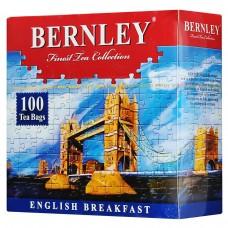 Чай черный в пакетиках для чашки Bernley English Breakfast, 100*2 г