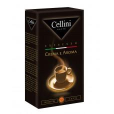 Кофе молотый Cellini Crema e Aroma (Челлини Крем арома), 250 г
