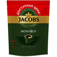 Кофе растворимый Jacobs Monarch, м/у, 38 г