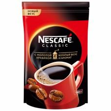 Кофе растворимый Nescafe Classic c молотой арабикой, м/у, 150 г
